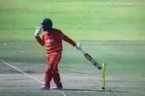Bizarre Dismissal - Brendan Taylor Given Hit Wicket Against Bangladesh. But Was it a Wrong Decision?