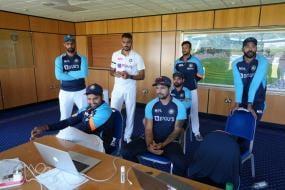 Team India Watching Team India - BCCI Shares Interesting Pic, Wasim Jaffer Has Hilarious Meme