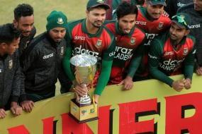 Injured Tamim Iqbal Scores Ton, Helps Bangladesh Sweep Zimbabwe in ODI Series
