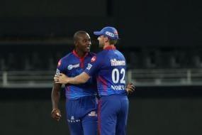 IPL 2021: Anrich Nortje, Kagiso Rabada Lead Delhi Capitals to Thumping Win Over Sunrisers Hyderabad