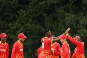 Zimbabwe Defend 13 Runs in Final Over to Beat Scotland, Series Level at 1-1