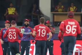 England vs West Indies Live Score, T20 World Cup 2021, Today's Match at Dubai: Rashid Takes Four as Windies Shot Out For 55