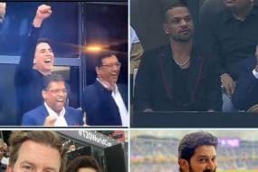 T20 World Cup 2021: Akshay Kumar, Shikhar Dhawan, Preity Zinta & Other Stars Enjoy IND vs PAK Match in Dubai - SEE PICS