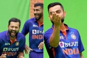 T20 World Cup 2021: Virat Kohli & Co Have Fun Shooting Session Ahead Of Clash Against Pakistan - WATCH