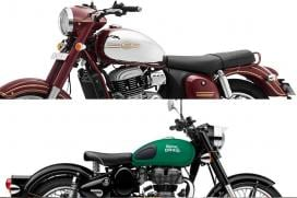Jawa Vs Royal Enfield Classic 350 Spec Comparison - Looks, Price, Features And More