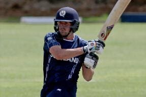 Live Cricket Scores, ICC World Cup Qualifiers, West Indies vs Scotland: MacLeod, Berrington Look to Steady Ship