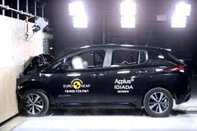 Nissan LEAF Becomes First All-Electric Car to Get New 5-Star Euro NCAP Safety Rating [Video]