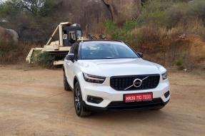 Volvo XC40 Compact SUV to Launch in India Soon - Detailed Image Gallery