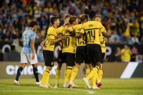 Borussia Dortmund Ease Past Man City in Champions Cup Opener