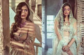 Sonam Kapoor Looks Like the Perfect Summer Bride in Her Latest Photoshoot; See Pics