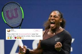 Serena Williams Responds to 'Black Panther' Catsuit Backlash in the Most Serena Way Possible