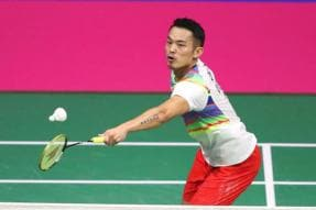 From 'Super Dan' to 'First-Round Lin' as Badminton Legend Falters