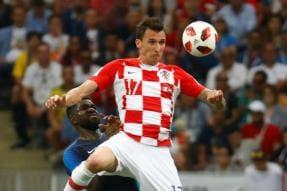 Croatia Striker Mario Mandzukic Calls Time on International Career