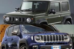 All-New Suzuki Jimny Vs Jeep Renegade: Compact SUV Spec Comparison 2018- Specs, Price and Features