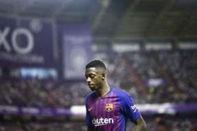 Dembele Sparkles but Messi Needed Off Bench to Rescue Barcelona
