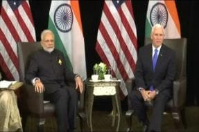 PM Modi Holds Talks With US Vice President Mike Pence in Singapore