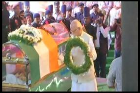 Union Minister Ananth Kumar Cremated With Full State Honours, Leaders Pay Homage