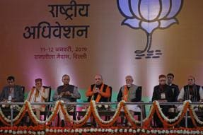Galaxy of BJP Leaders, Ministers to Hold Press Meets Over 4 Days to Spread Party's Message