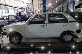 India's First Maruti 800 is Getting Restored, Indira Gandhi Handed the Keys 36 Years Ago