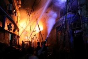 69 Dead, Hundreds Evacuated as Chemical Store Fire Sets Ablaze Old Dhaka Neighbourhood