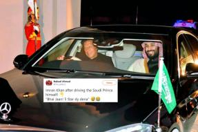 Imran Khan Turning Chauffeur For Saudi Crown Prince MBS is Driving Twitter Crazy