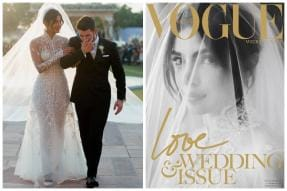 Priyanka Chopra Stuns in White Bridal Veil on Love & Wedding Cover of Vogue Netherlands