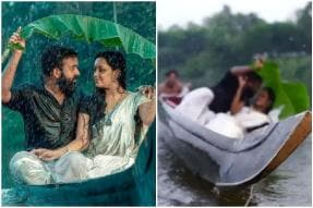 Taking the Plunge: Kerala Couple Fall into River During Pre-Wedding Photoshoot