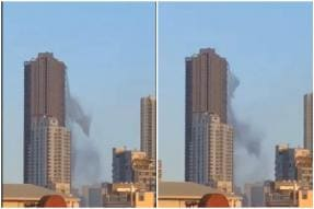 Watch: Philippines Earthquake Causes Rupture in Rooftop Pool, Spilling Water Down 48 Floors