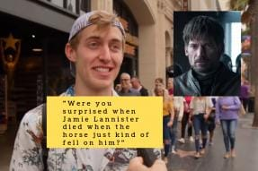 Americans Tell Jimmy Kimmel That 'Game of Thrones' Season Finale Was 'Epic'. It Hasn't Aired Yet.