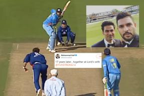 Kaif and Yuvraj Singh at Lord's After 17 Years Will Take You Back to Natwest Final Days