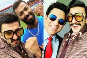 Ranveer Singh Posts Selfies With Tendulkar, Ganguly, Pandya As Cricket Fever Grips Him
