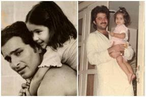 Sara Ali Khan, Sonam Kapoor Post Cutest Childhood Photos to Wish Their Dads on Father's Day