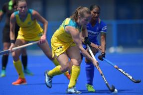 Indian Women's Hockey Team Hold Australia to 2-2 Draw in Olympic Test Event
