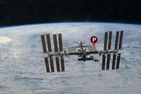 Not Just a Dropped Pin: Spacewalking Scientists Add Parking Spot to International Space Station