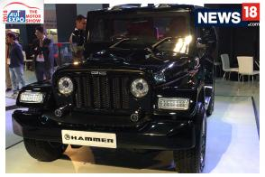 Mahindra Thar Based DC Hammer SUV First Look Video​