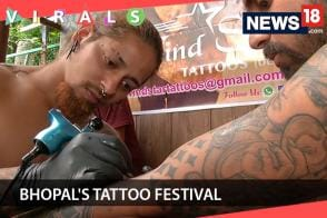 Thousands Throng at Bhopal's Tattoo Festival