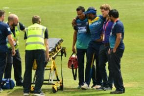 ICC World Cup 2019 | Avishka Fernando Stretchered Off in Warm-up Against South Africa