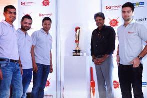 Kapil Dev Launches Wonder Cement's Saath:7 Cricket Mahotsav