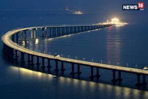 World's Longest Sea-Crossing Bridge Linking Hong Kong-China Finally Opens