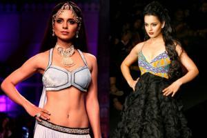 When Kangana Ranaut Sashayed The Ramp for Top Designers