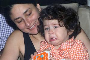 Paparazzi Caught a Glimpse of a Crying Taimur Ali Khan