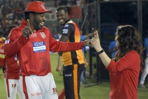 IPL 2018 Candid Moments: Chris Gayle, Preity Zinta Do Bhangra