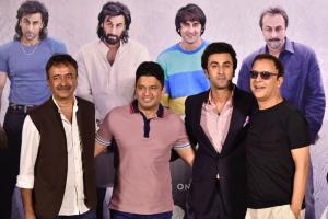Ranbir Kapoor at 'Sanju' Trailer Launch; See Pictures