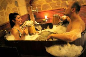 How it Feels to Bathe in Beer: Inside a Beer Spa in Spain