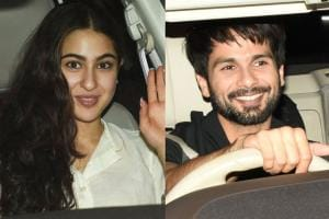 PICS: Sara Ali Khan, Shahid Kapoor at 'Dhadak' Special Screening