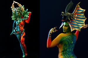 Most Amazing Artworks on Display at the World Bodypainting Festival