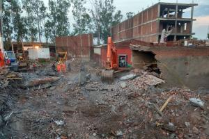 5-Storey Under-Construction Building Collapses in Ghaziabad