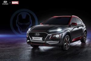 Hyundai Kona SUV Gets an Official Marvel's Iron Man Treatment