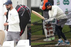 Virat Kohli Sweats it Out Hard in Nets Ahead of 3rd Test in England