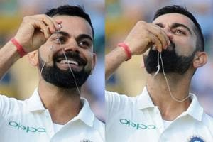 Virat Kohli Kisses Wedding Ring After Scoring Ton Against England